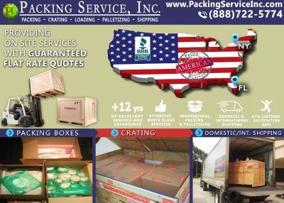 Packing Service, Inc. Export Shipping and Industrial Crates - Key West, Florida