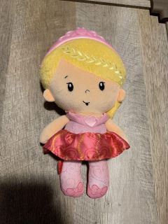 Fisher price princess rattle doll