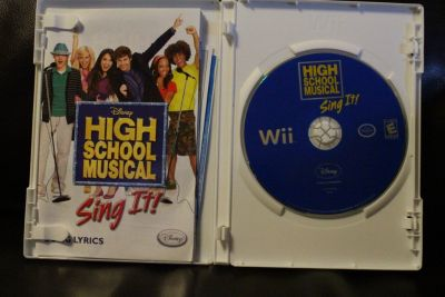 Disney High School Musical Sing It: Party Hits - Nintendo Wii
