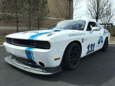 11 Dodge Challenger Race Car - Body on White - Arrington Mot