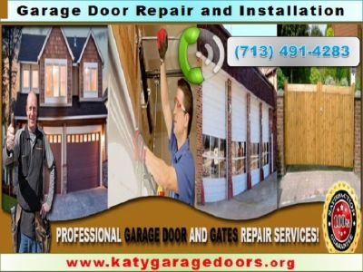 Garage Door, Spring Repair, Automatic Gate service, available in Katy 77450TX $25.95