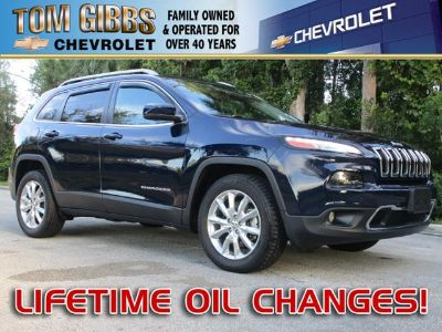 2015 Jeep Cherokee Limited (True Blue Pearlcoat)