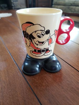 Vintage Disney Mickey Mouse Cup