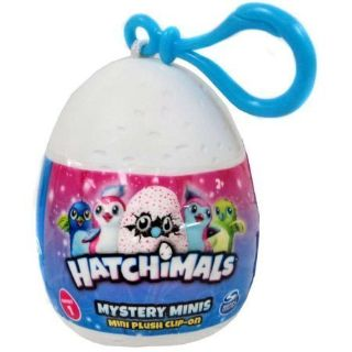 "Hatchimals Mystery Mini Plush Clip-On 2"" Egg"