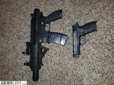 For Sale/Trade: M&P 45L and HK 416 22lr