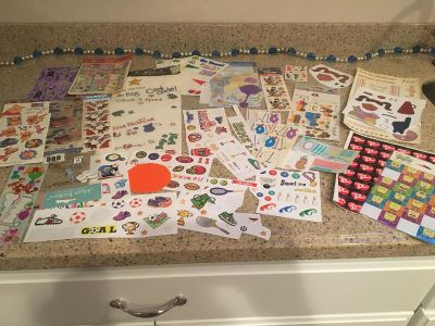 Loads of stickers!