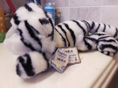 Plush White Tiger Cub New with Tags