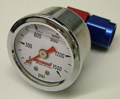 "Sell Speed 104LK6 1-1/2"" Nitrous Pressure NOS Gauge Kit -6 motorcycle in Suitland, Maryland, US, for US $59.94"