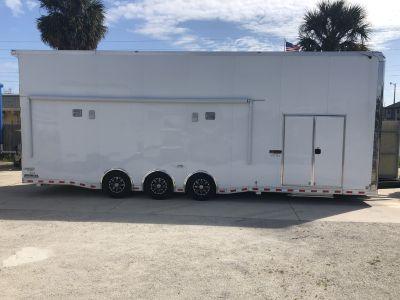 2019 Bravo 32 Stacker Race Trailer