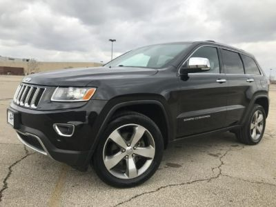 2014 JEEP GRAND CHEROKEE LIMITED ALL NEW TIRES ROOF NAV