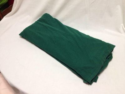 Flat Sheet. Queen. Tee Shirt Material. Dark Green. Pick up at Target in McCalla on Thursdays 5:15 to 6:00pm.