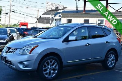 2013 Nissan Rogue S (Brilliant Silver Metallic)