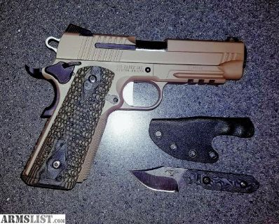 For Sale: Sig Scorpion Carry 1911