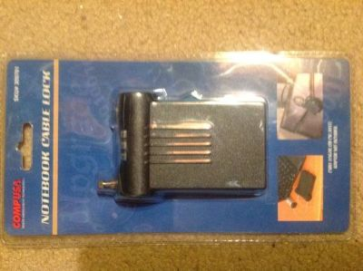 Portable Laptop Lock -New