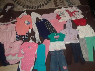 12 month lot with sets that are new w tags!