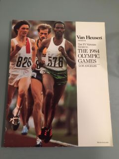 1984 Olympic Games TV guide