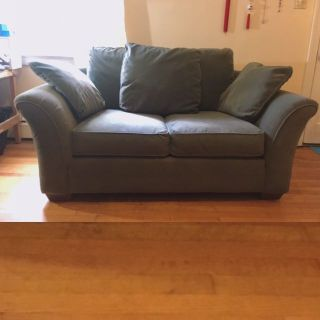 Bauhaus Loveseat Couch Sofa (from Havertys)