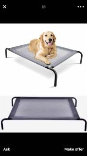I m LOOKING for a LARGE dog cot for sale
