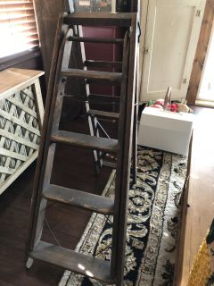 Antique ladder/ironing board