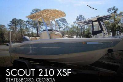 2015 Scout 210 XSF