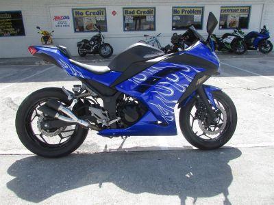 2017 Kawasaki NINJA 300 Sports Bike (Blue)