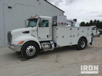 2020 Peterbilt 337 S/A Service Truck w/ Crane - New