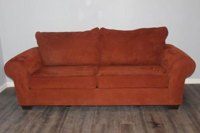 Brick Color Sofa