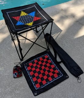 Portable Foldable Game Table