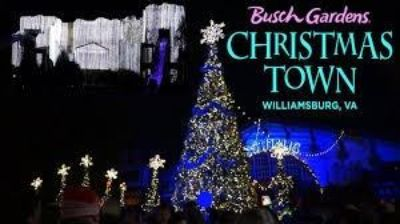 4 Busch Gardens Christmas Town tickets-$35 Each, no black out dates, expires 1/5/19,