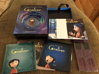 Coraline Limited Edition Gift Set - porch pick up