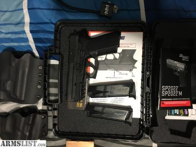 For Sale/Trade: Sig Sauer SP 2022