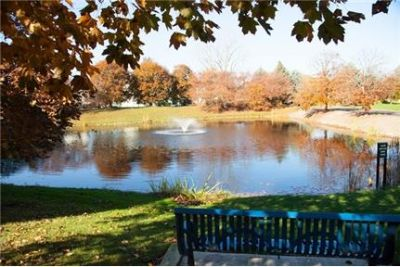 1 bedroom Apartment - Nestled within lush landscaping surrounding a beautiful private pond.