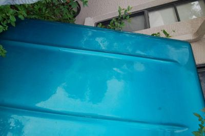 "Buy PICKUP TRUCK Hard Tonneau Cover Truck Lid Silverado 82"" Short Bed FIBERGLASS FL. motorcycle in Spring Hill, Florida, US, for US $250.00"