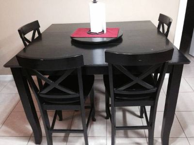 Dinning table-4 chairs