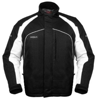 Purchase Cortech Journey 2.0 Black XL Mens Snowmobile Jacket Snow X-Large motorcycle in Ashton, Illinois, US, for US $89.99