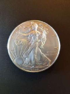 2018 American Silver Eagles, Uncirculated in case