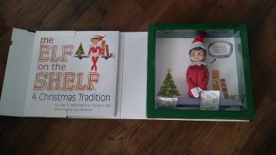 *Brand New* Girl Elf on the Shelf WITH Book