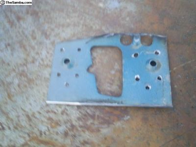 1964-66 door latch template