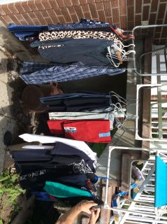 Clothing at garage sale 178 butternut crescent ddo July 14 2019