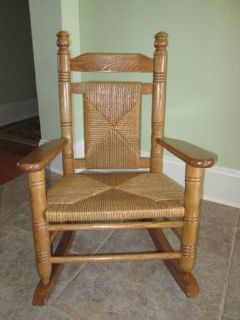 Cracker Barrel Childs Rocking Chair - EUC