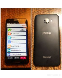 Brand new jitterbug phone with charger