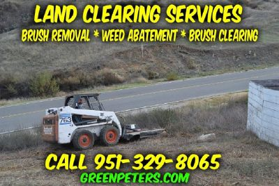 Land Clearing & Weed Abatement Services
