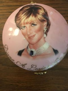 Princess Diana music box. Collectible and numbered!