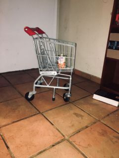 Mini grocery cart