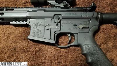 For Sale: Custom Built Mega Machine AR-15 with One Off KTB Barrel