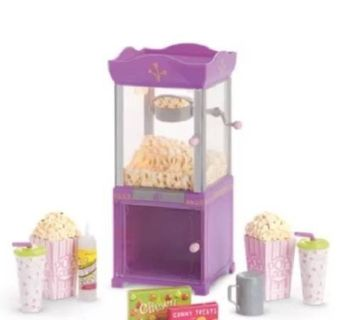 AMERICAN GIRL POPCORN MACHINE FOR DOLLS MOVIE CANDY DRINKS NEW IN BOX