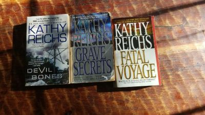 Kathy Reichs books. $3.00 for all 3