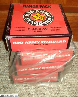 For Sale: 5.45mm ammo, about 700 rounds