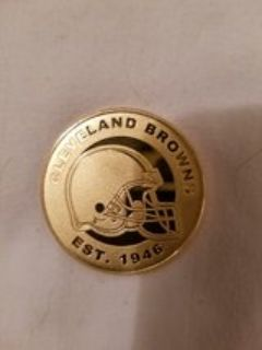 2016 Gold Super Bowl Game Coin