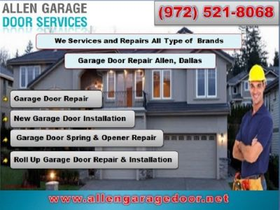 Family Owned Garage Door Repair & New Installation $25.95 | Allen Dallas, 75071 TX